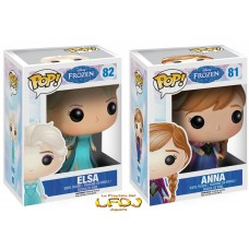 Disney Frozen: Funko POP! 081 Anna y 082 Elsa