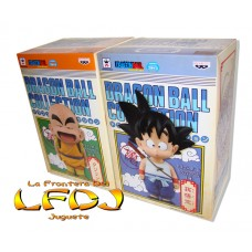 Dragon Ball: Original Figure Collection - Goku y Krilin niño