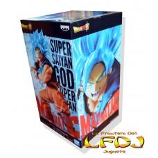 Dragon Ball: Banpresto Maximatic  - Goku Super Saiya Blue