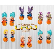 Dragon Ball: QD Mascot Vol. 2 Set de 6 Llaveros
