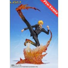 One Piece: Figuarts Zero - Sanji Diable Jambe Premier Hachis Ver.