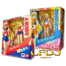 Sailor Moon: S.H. Figuarts - Sailor V y Venus